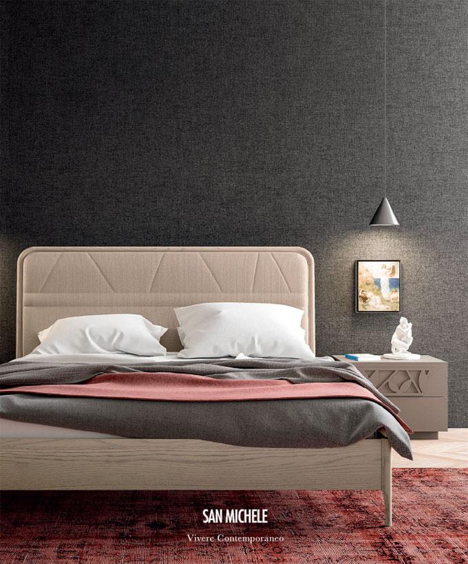 Moderner Schlafbereich