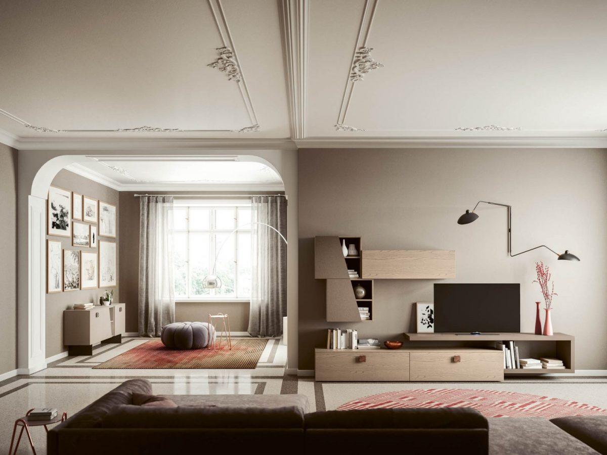 Day 1 + Madia 2 Moderner Wohnbereich San Michele