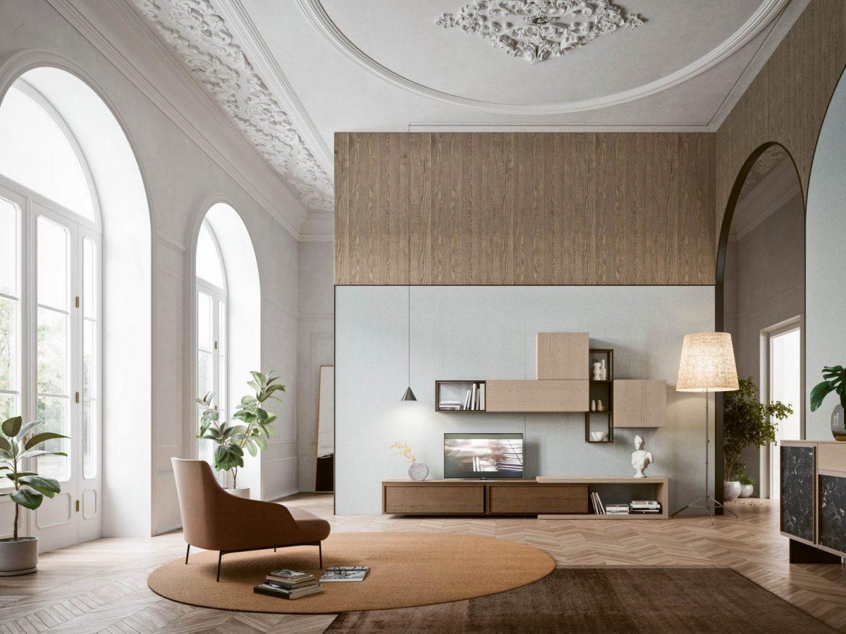 Day 5 + Madia 6 Moderner Wohnbereich San Michele